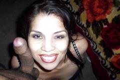 Rosa Mendoza Face Next To Cock