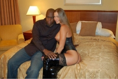 Horny Alyse Motogurl cant wait to have sex with this black guy