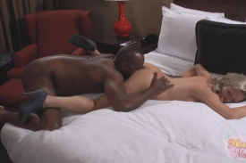 Mandy Monroe interracial sex